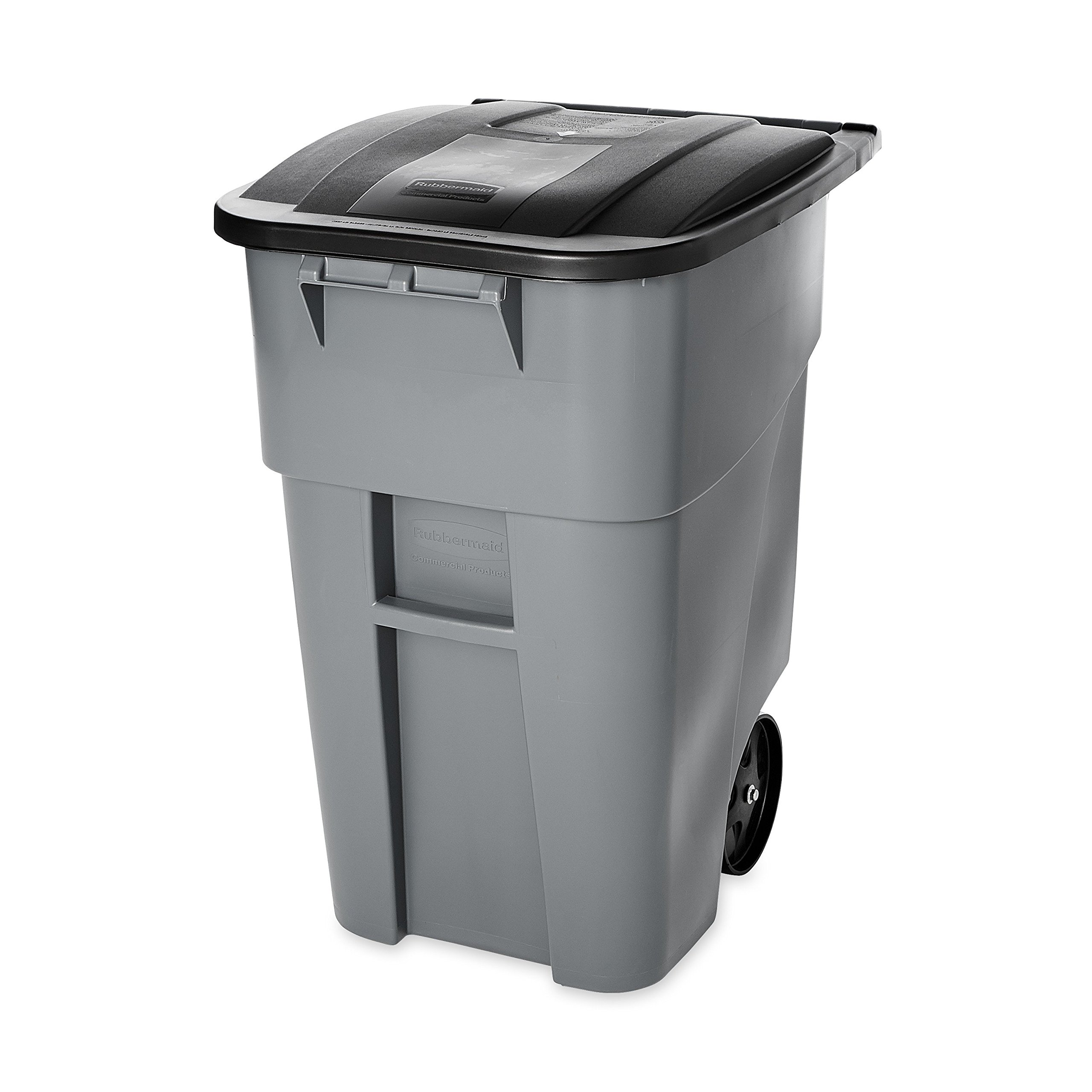 Rubbermaid Commercial Brute 50 Gallon Trash Can W Wheels