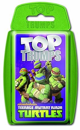 Winning Moves - Juego de cartas Tortugas Ninja (versión en ...
