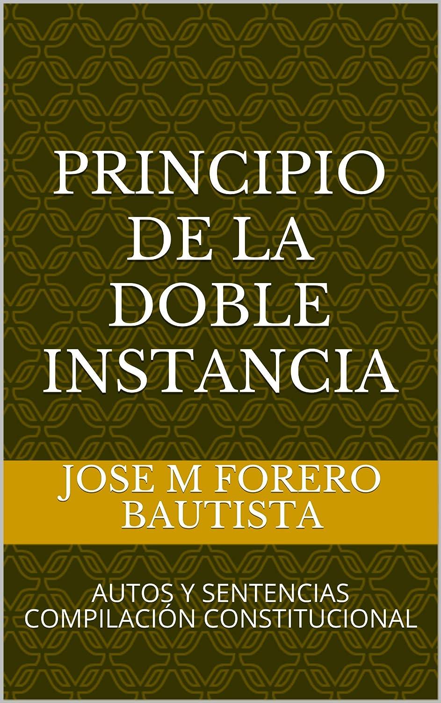 PRINCIPIO DE LA DOBLE INSTANCIA: AUTOS Y SENTENCIAS COMPILACIÓN ...