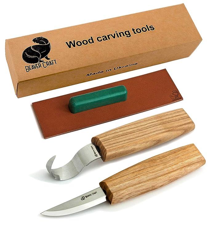 BeaverCraft Carving Knives Set