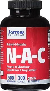 Jarrow Formulas N-A-C (N-Acetyl-L-Cysteine), Supports Liver &