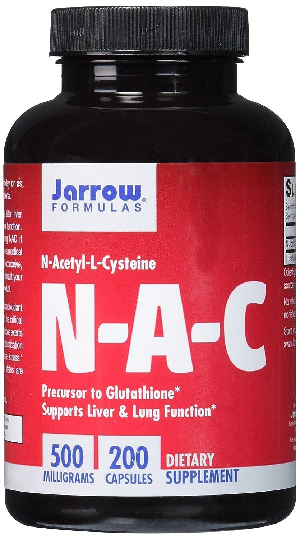 Jarrow Formulas, nN-acetil-L-Cisteína - 500mg x200caps: Amazon.es: Salud y cuidado personal