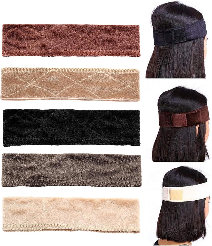 Adramata 5 Pack Velvet Wig...