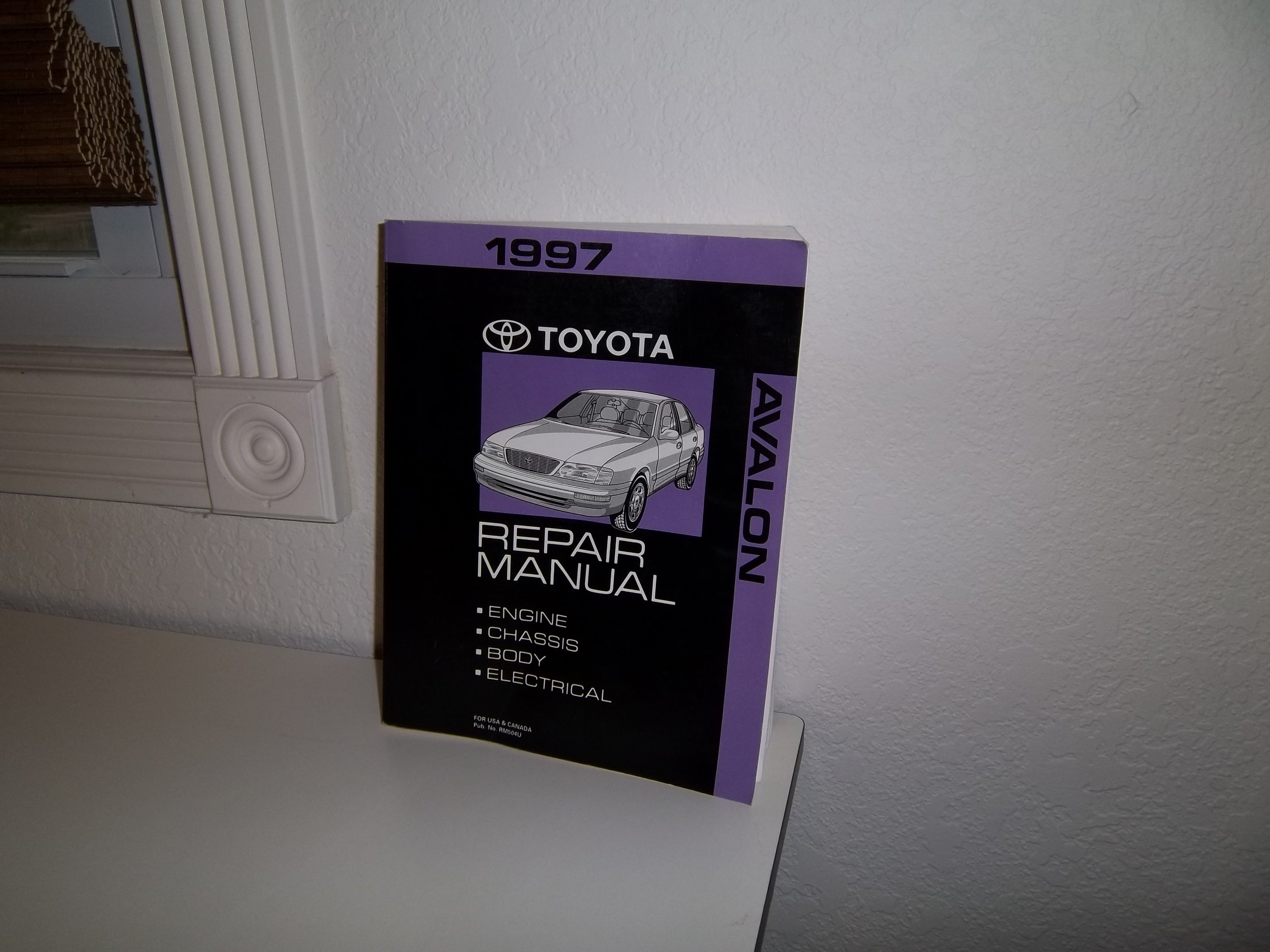 1997 Toyota Avalon Repair Shop Manual Original: Toyota: Amazon.com: Books
