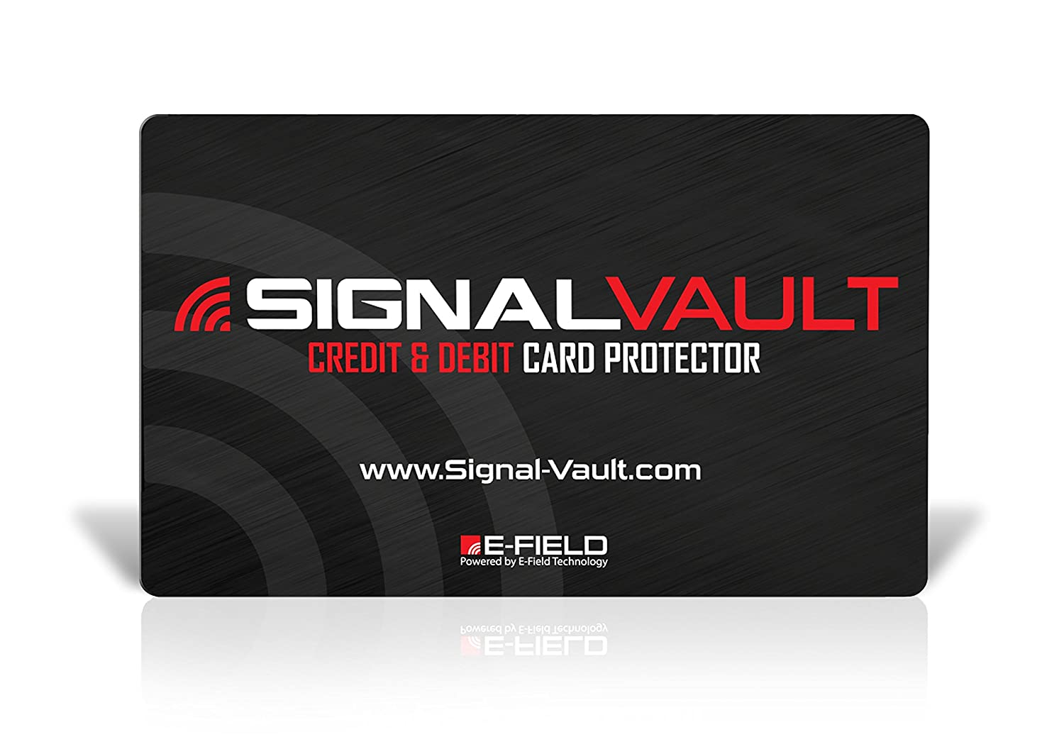 Amazon rfid blocking signal vault credit debit card amazon rfid blocking signal vault credit debit card protector 2 cards office products magicingreecefo Images