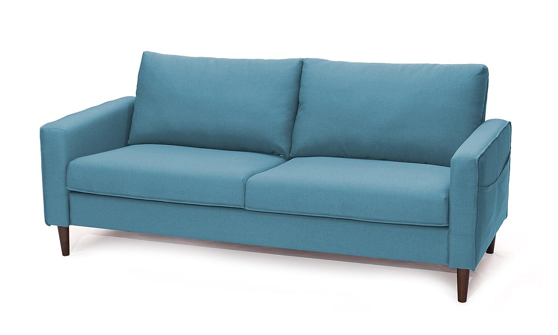 SLAAP Sofa & Chaise - Sofá Estilo Nórdico 2,5 plazas. Azul ...