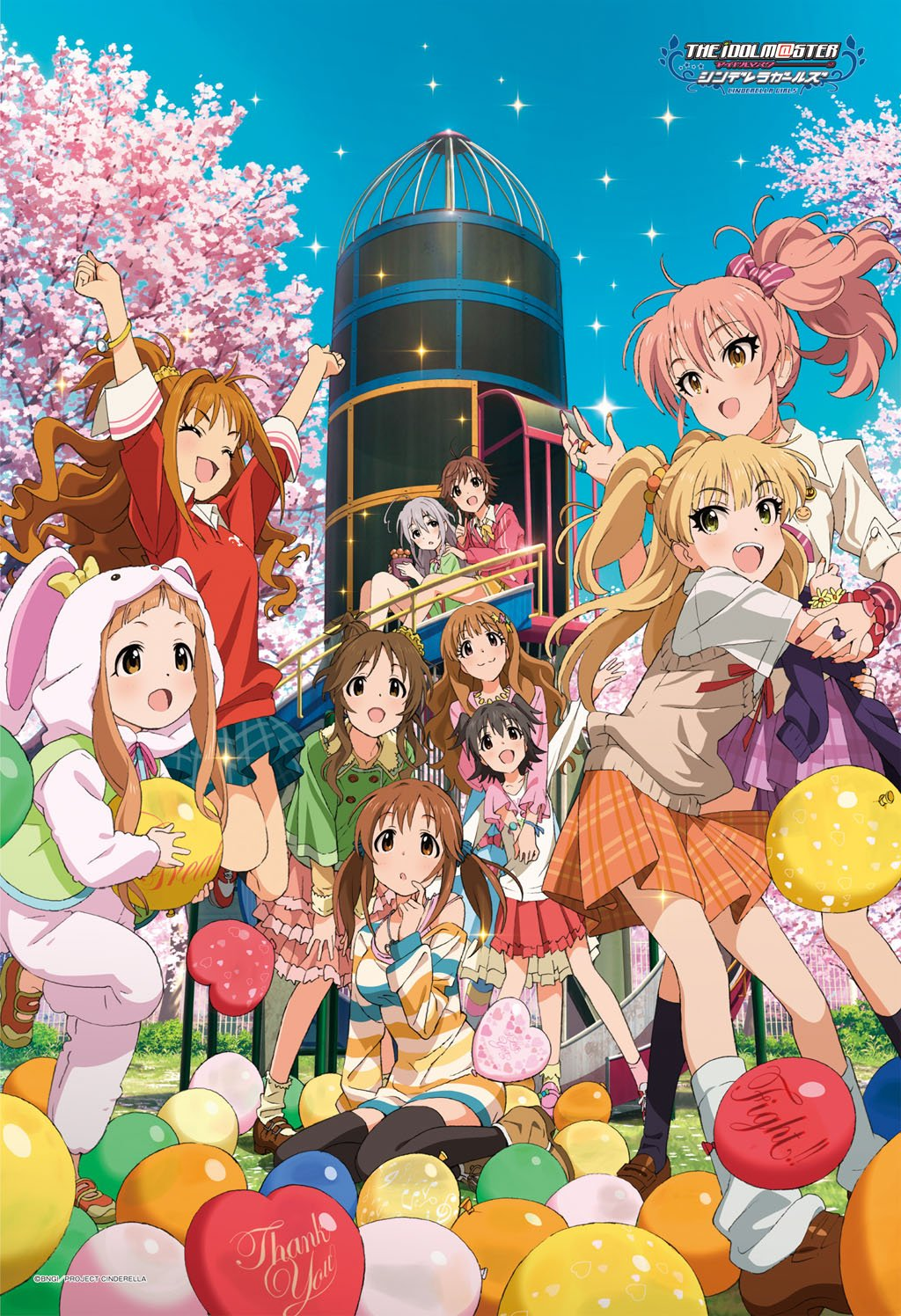 300 piece jigsaw puzzle (26x38cm) The Idolmaster Cinderella Girls Enthusiasm by ensky