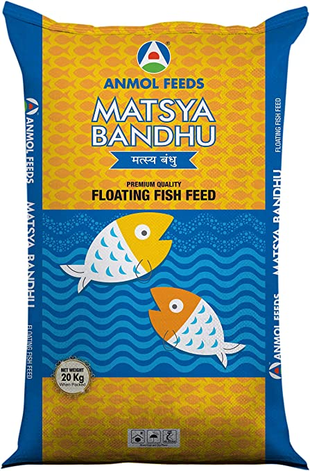 Buy Floating Fish Feed (Powder, 38/5) Online at Low Prices