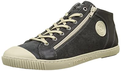 Mens Bumper/T Hi-Top Trainers, Blue Pataugas