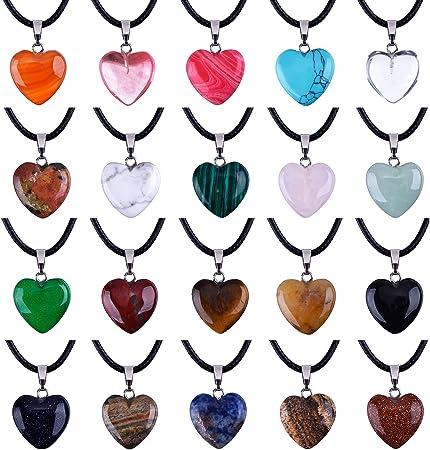 5 PCS Heart Natural Black Hematite Charms Pendants DIY 19mmX20mm