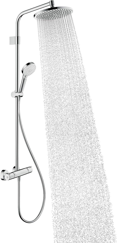 Hansgrohe – Crometta - Columna de ducha cromada, 26781000: Amazon ...