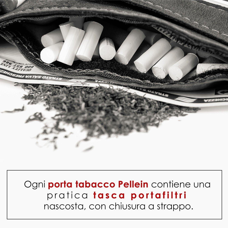 Pellein Red Hero Blague /à tabac en cuir v/éritable
