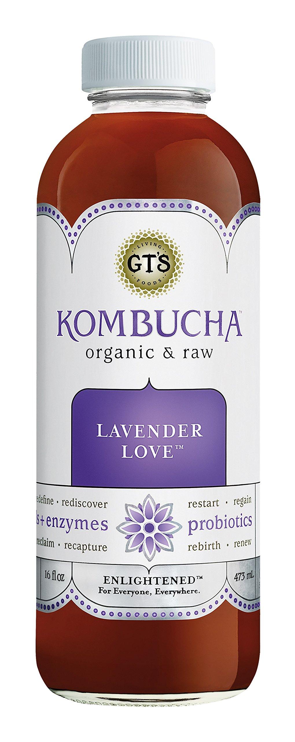 Amazon.com : GT'S ENLIGHTENED KOMBUCHA Organic Raw