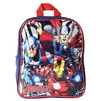 bcd3fd5eaa0dee Marvel Avengers Boys Junior Backpack Childrens Rucksack School Bag:  Amazon.co.uk: Luggage