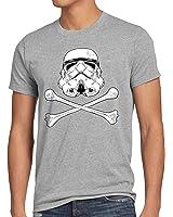 style3 Stormtrooper Totenkopf Herren T-Shirt Sturmtruppe