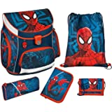 Scooli Campus UP Schulranzen-Set 5-tlg Spider-Man SPJU spiderman