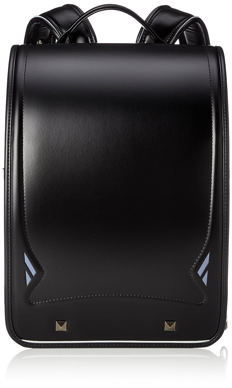 [フワリィ] ランドセル Royal Collection 2019年度モデル 男児 05-35000 B07BSPYZ7J ブラック×マリンブルーコンビ