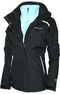 Columbia Womens 3 IN 1 Arctic Trip II Interchange Omni-Heat Winter Jacket