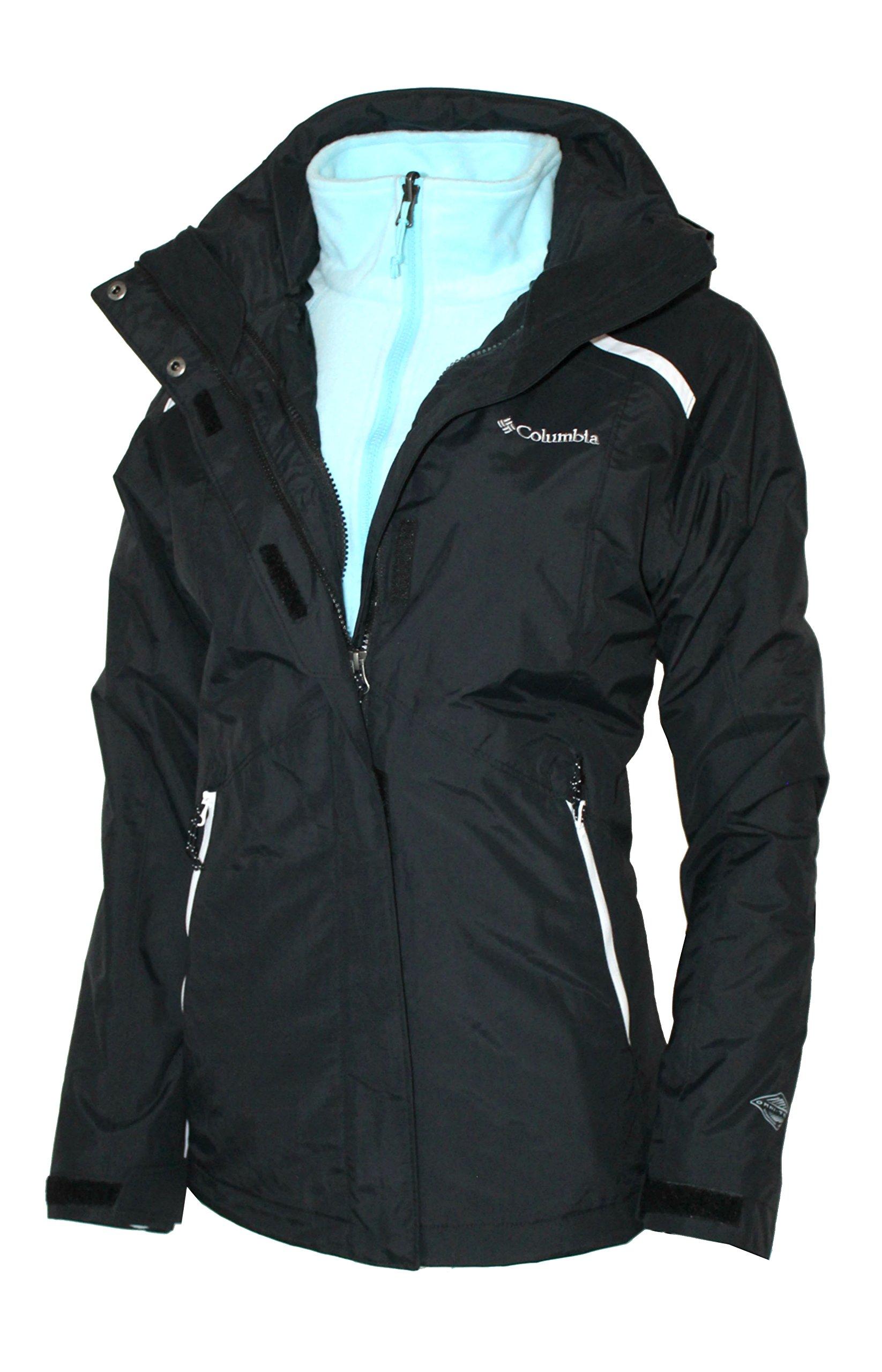 Columbia Women's 3 IN 1 Arctic Trip II Interchange Omni-Heat Winter Jacket (S)