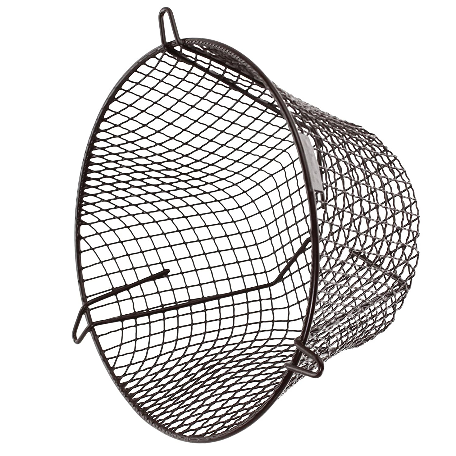 SPARES2GO Universal Plastic Coated Terminal Guard Round Boiler Flue Cage (11''/280mm)