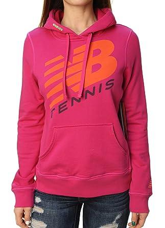 sale retailer 202b4 1a2d6 New Balance Women's Long Sleeve NB10S Tennis Hoodie: Amazon ...