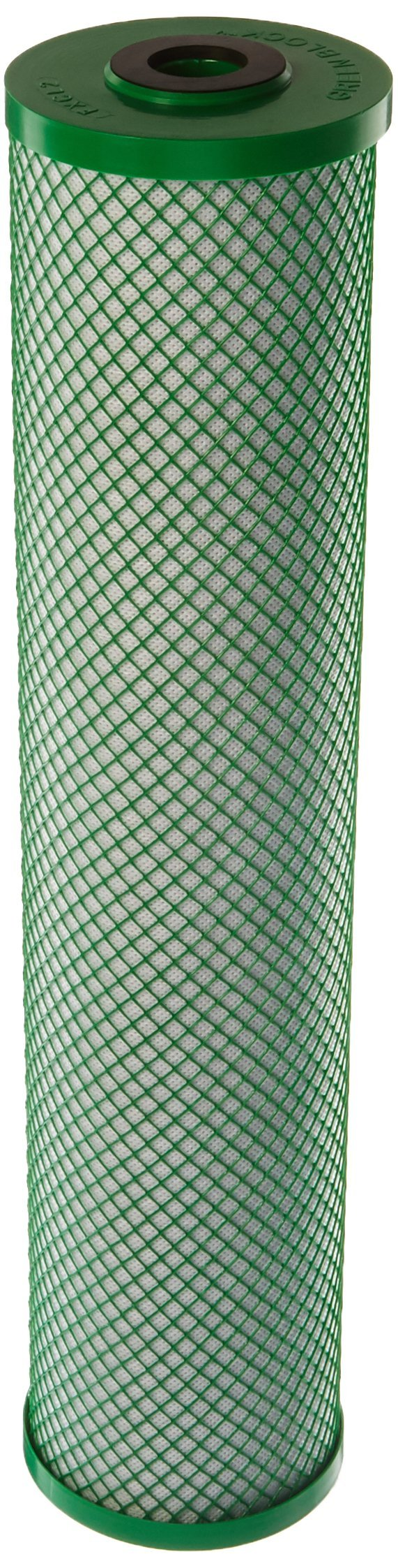 Hydro-Logic 22006 20-Inch by 4.5-Inch Big Boy Carbon Filter Green Coconut