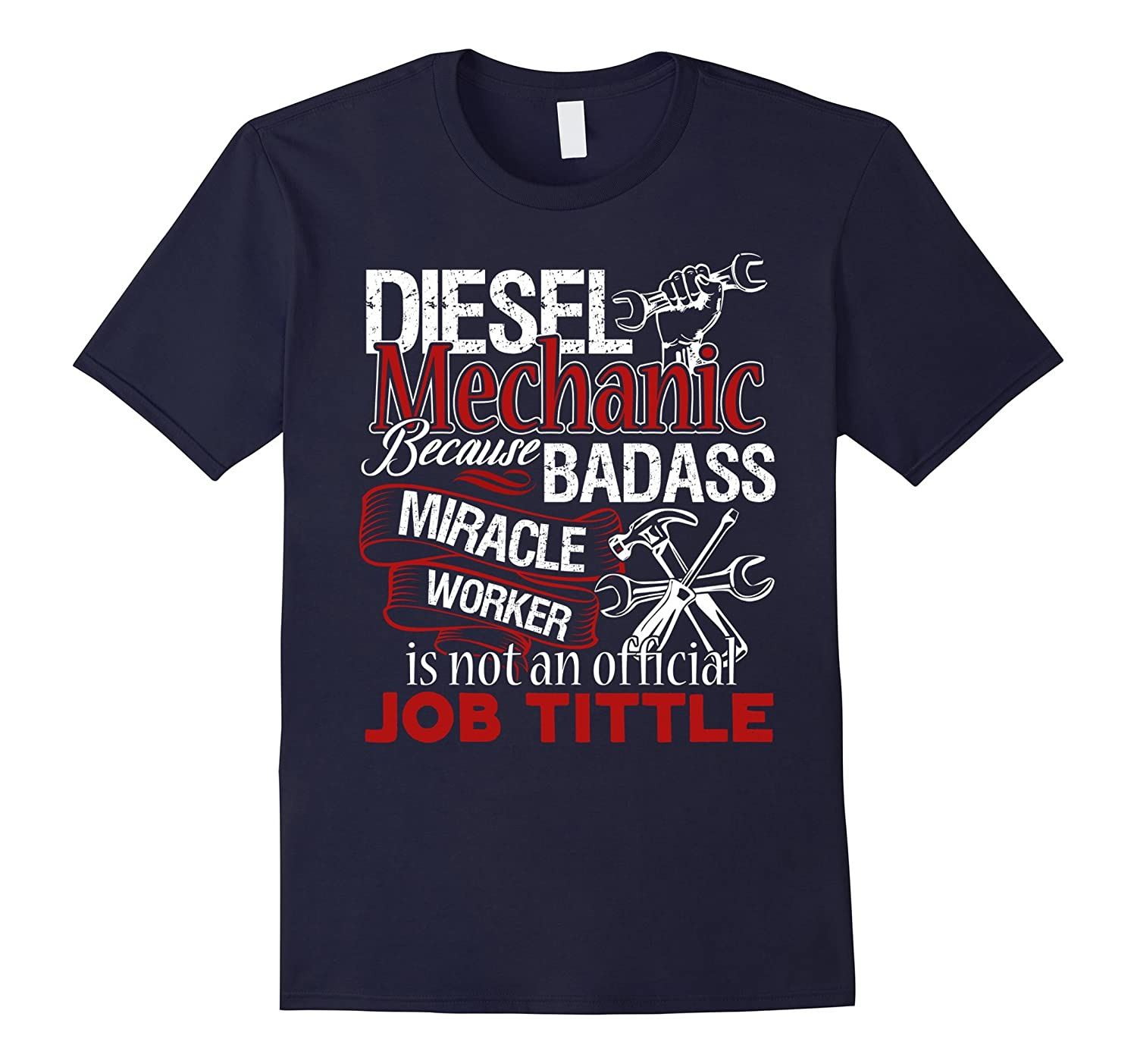 Diesel Mechanic Shirts - Diesel Mechanic T shirt-FL
