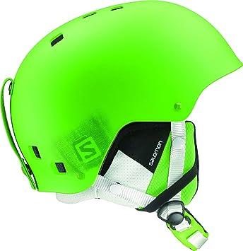 Salomon Brigade Ski Helmet Green Matte Sz M Mens