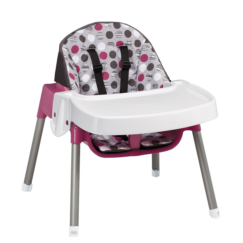 Evenflo Convertible High Chair Dottie Lime Ebay