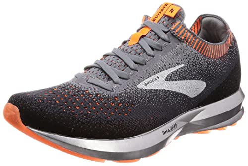 size 40 15ac0 30f7c Brooks Men s Levitate 2 Grey Black Orange Running Shoes-10 UK India