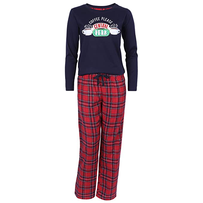 Friends - The TV Series - Pijama - para mujer Azul azul