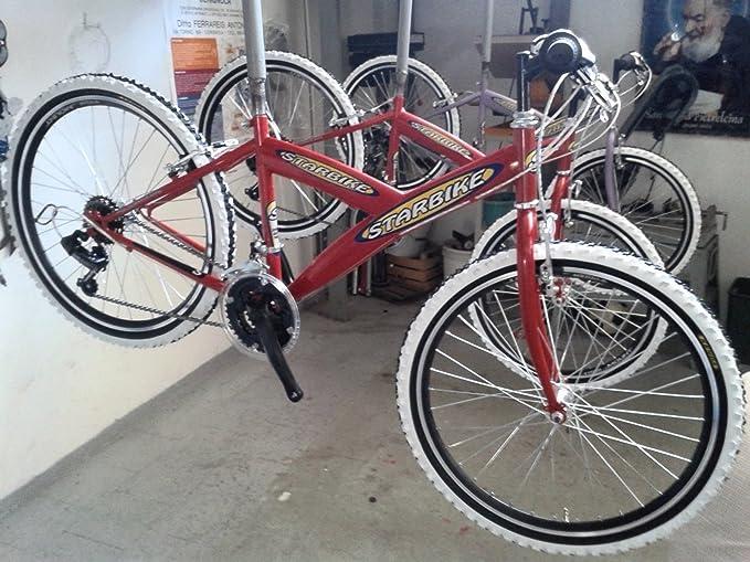 Bicicleta MTB Kappa Bimbo Bimba 24 18 V roja blanca gris ...