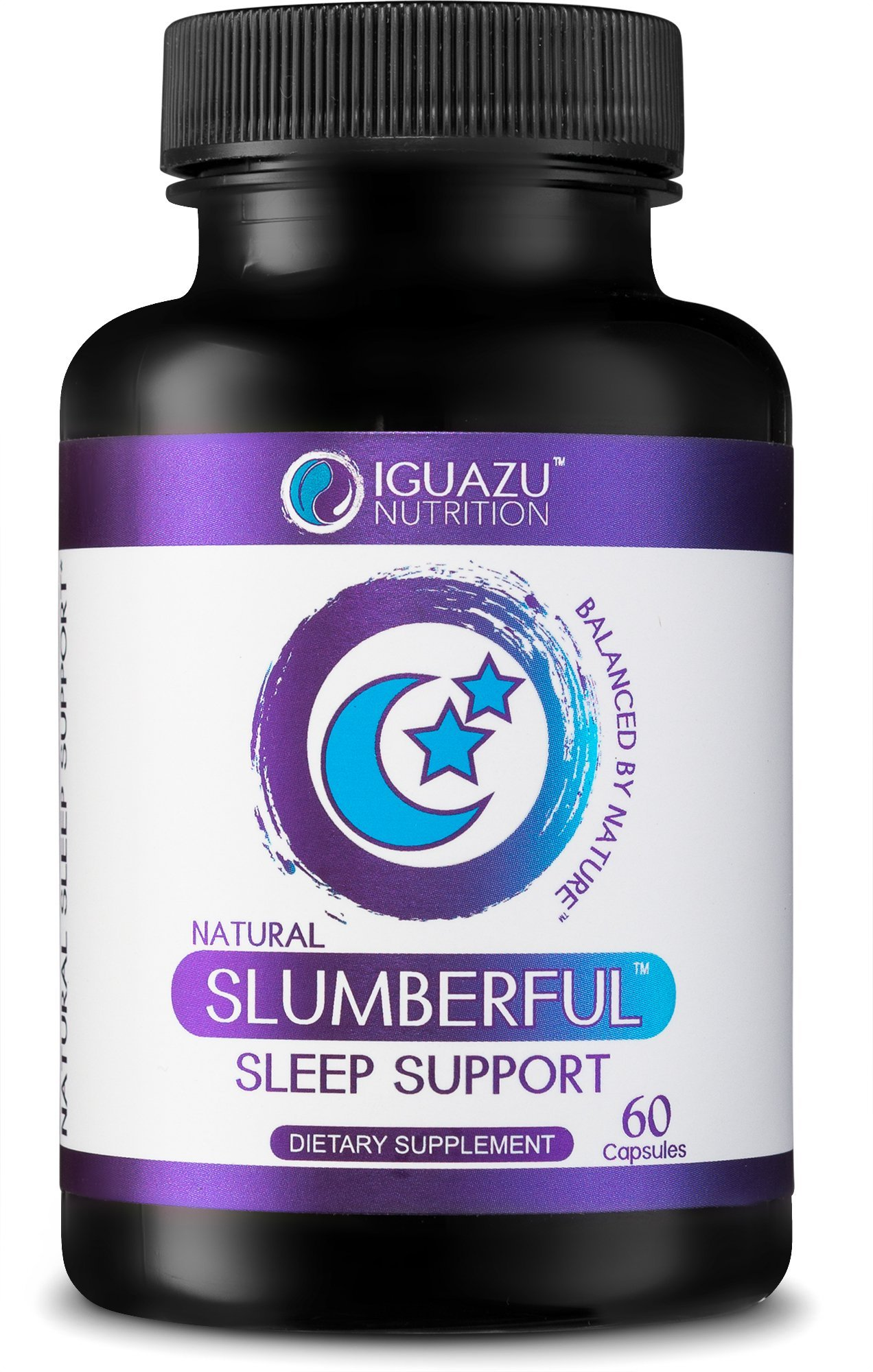 Slumberful Natural Sleep Aid - Premium Sleeping Pills with Valerian Root & Melatonin, Magnesium & Other Natural Non Habit Forming Ingredients, Also Helps with Anxiety, Stress, Mood & Focus 3 Pack