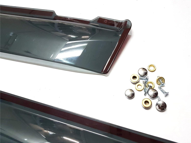 PERFLEX Set Wind Deflectors Rain Protectors Window Side Winddeflectors for Truck R Decoration Accessories