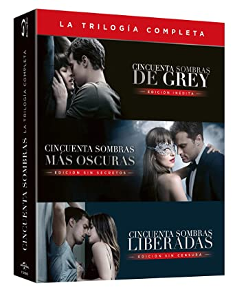 Cincuenta Sombras De Grey Películas 1 3 Blu Ray Amazon Es Dakota Johnson Jamie Dornan James Foley Dakota Johnson Jamie Dornan Universal Pictures Cine Y Series Tv