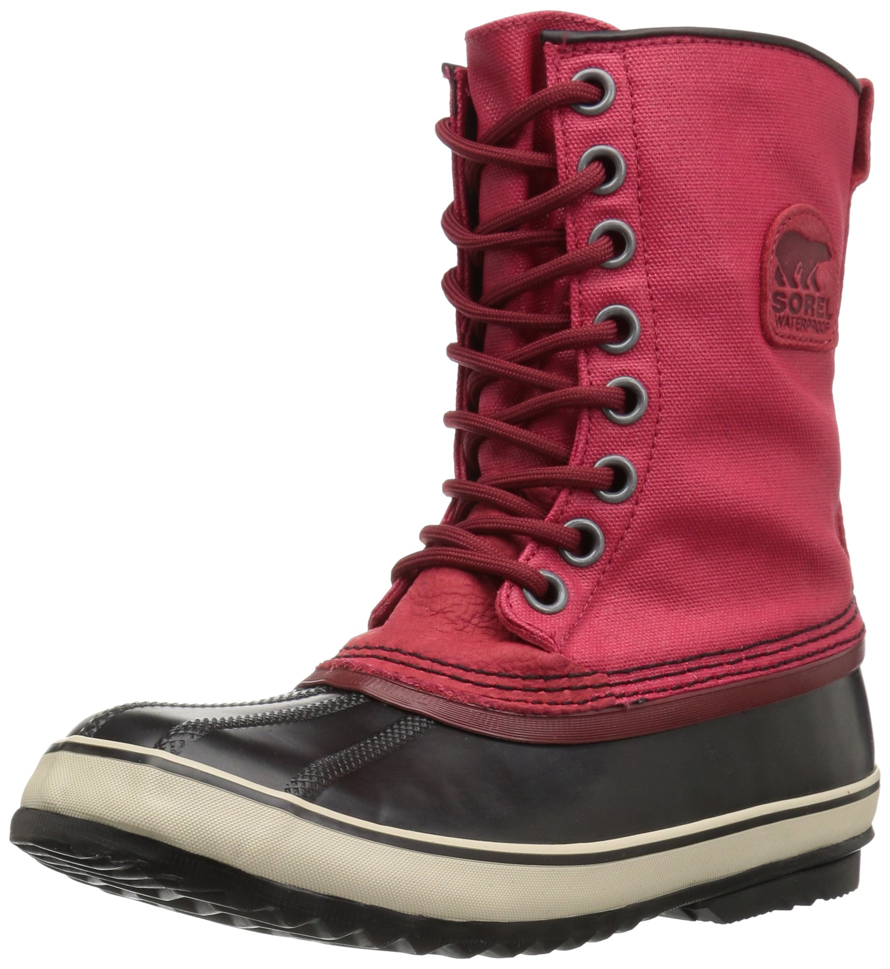 Sorel Women's 1964 Premium CVS Snow Boot, Candy Apple, Red Element, 12 B US