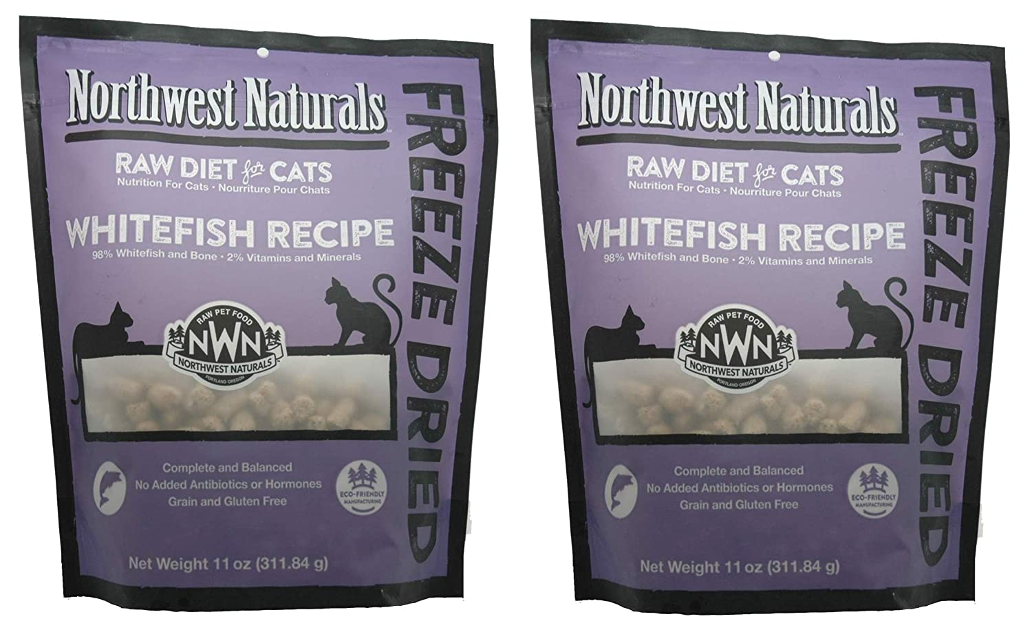 Amazon Com Northwest Naturals 2 Pack Of Freeze Dried