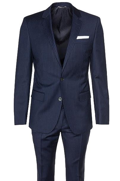 outlet store 99a91 25328 Hugo Boss Black vestito da uomo HUTSON2/GANDER1 navy Sky ...