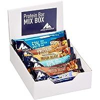 Multipower Protein Bar Mix Box – Gemischte Eiweißriegel Box (12 Stück / 495g) - Proteinriegel in unterschiedlichen Geschmacksrichtungen