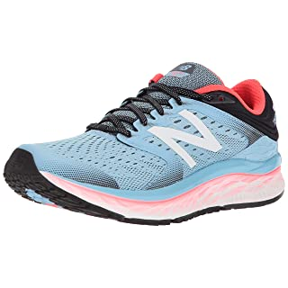 New Balance Women's W1080CS8 Running Shoe Clear Sky/Coral 7 B