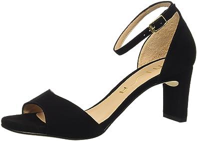 10b042572588b6 Unisa Damen Midas Sandalette schwarz  dunkel Größe 36 Schwarz (schwarz)