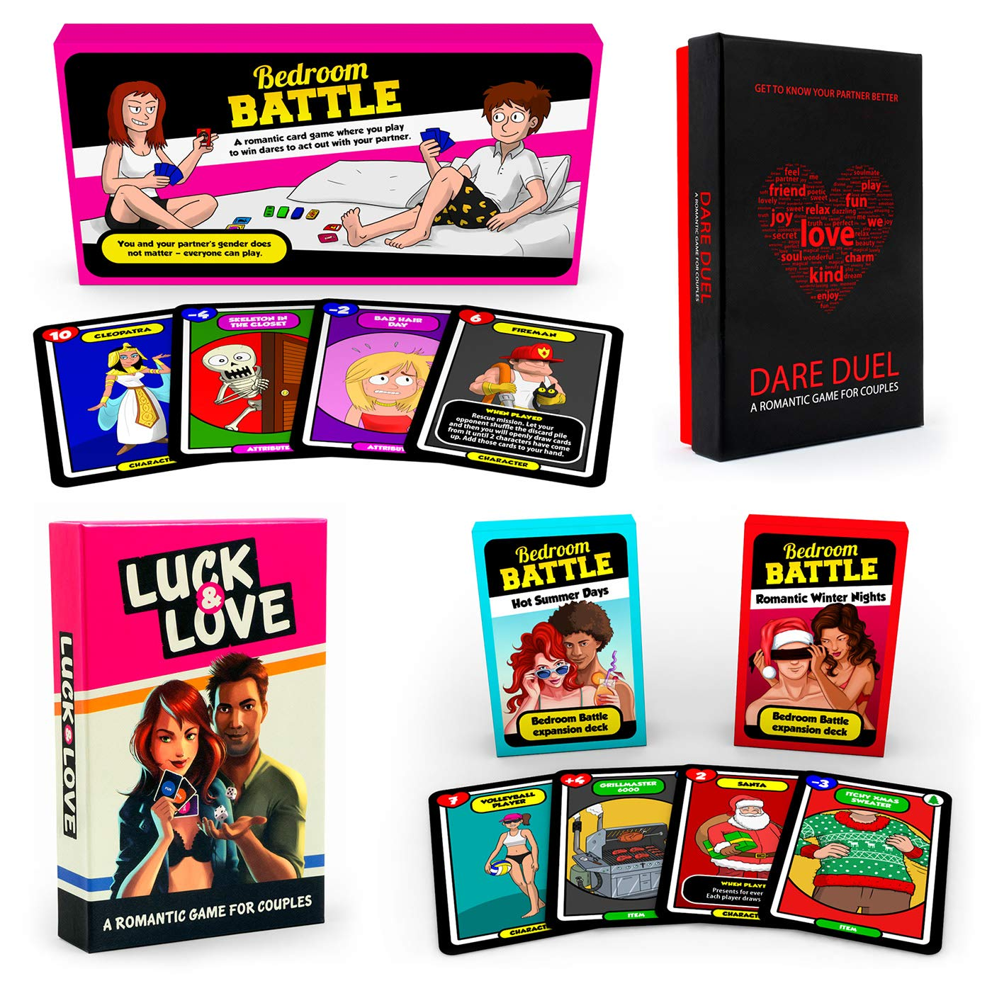 Big Bundle of Love - The Gift Box Full of Romantic Games for Couples