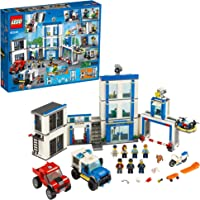 LEGO City Police Station 60246 Police Toy, Fun Building Set for Kids