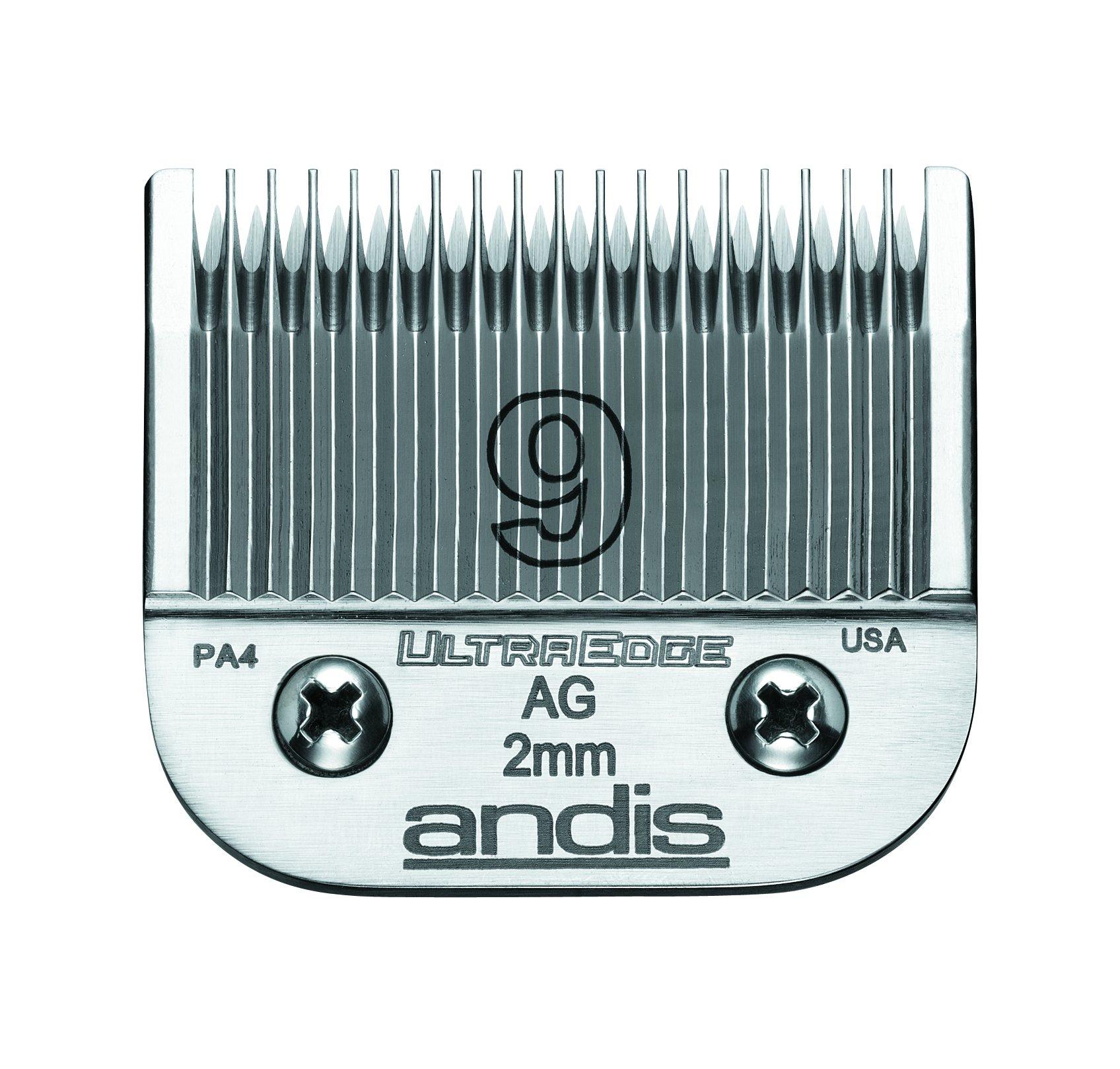 Cuchillas : Andis 9 Ultra Edge 64120 Reemplazo
