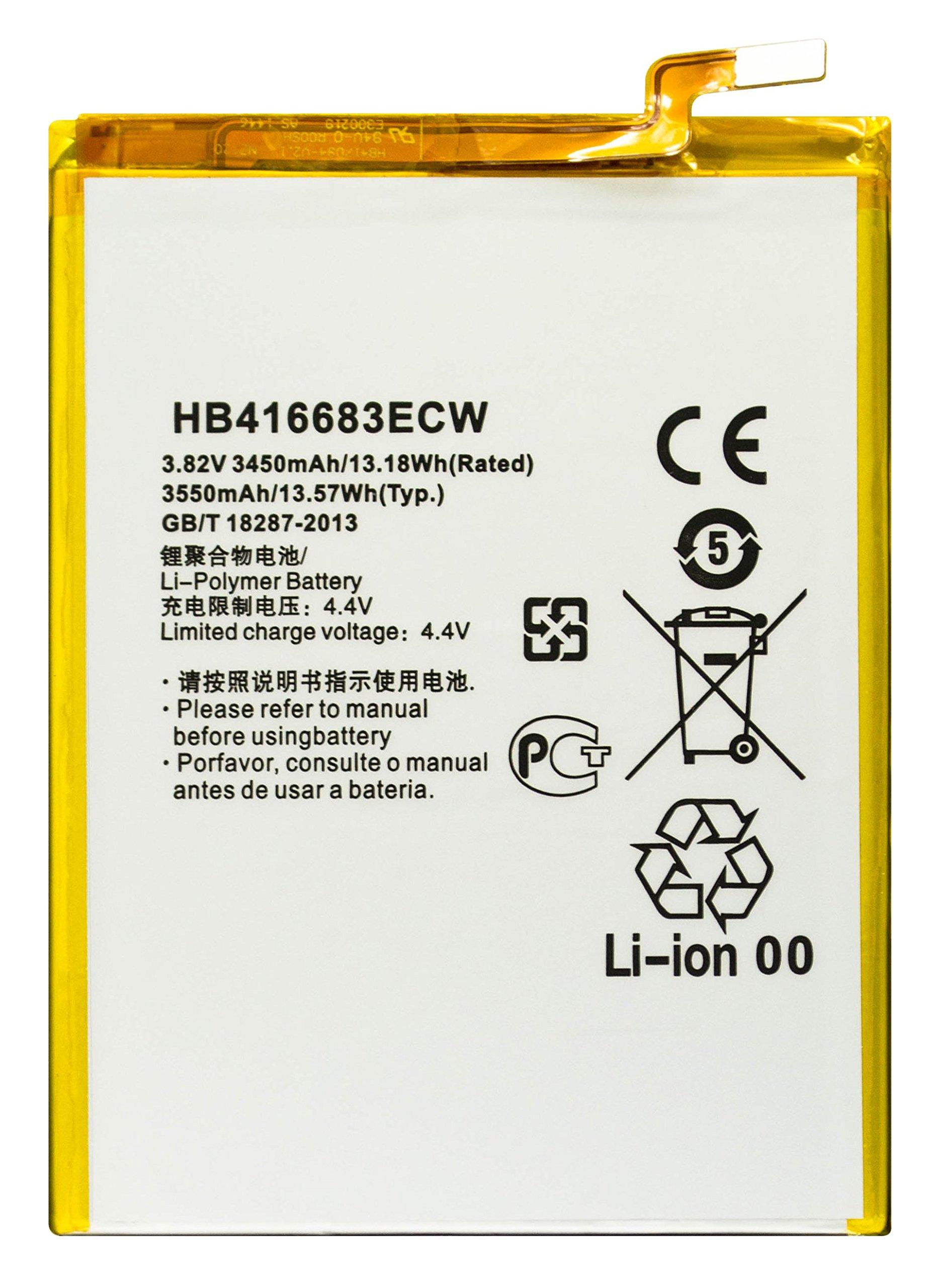 Bateria Celular Bastex Para Google Nexus 6p H1511 & H1512 3.82v 3450mah 13.18wh Li Polymer Con Free Tool Kit Para Huawei