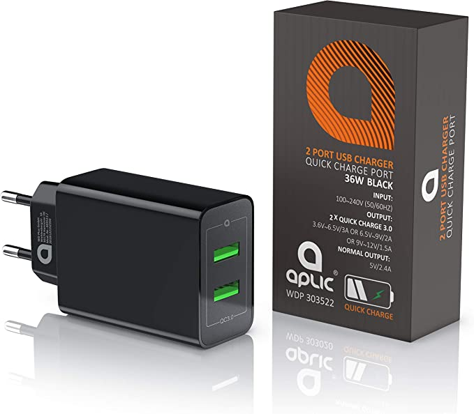 Csl 36 W Charger 2 Port Quick Charge 3 0 Usb Power Elektronik
