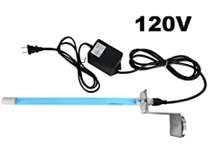 """Pure Uv Light AIR Purifier for Ac HVAC Coil 120v Plug-in 14"""" Germicidal Bulb with Magnet"""