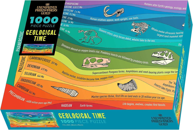 The Unemployed Philosophers Guild Geologic Time Jigsaw Puzzle