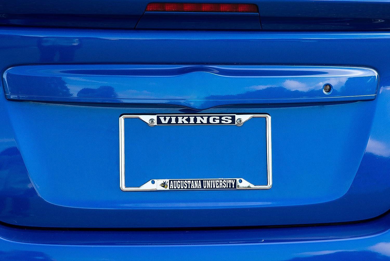 Mascot Desert Cactus Augustana University Vikings NCAA Metal License Plate Frame for Front or Back of Car Officially Licensed