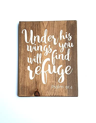 Amazon Com Wooden Signs For Home Scripture Wall Art Bible Verse